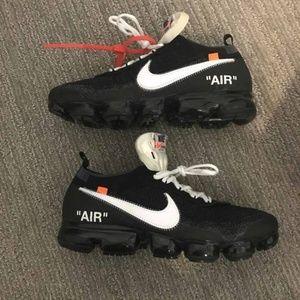 Nike Vapormax 1.0 x Off White Black White Size 12